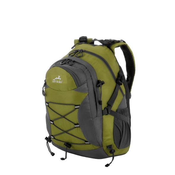 Let's Go Rucksack 32A001 17l grün/grau