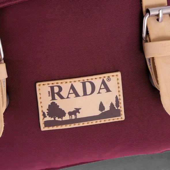 Rada Rucksack RS52L anthracite/wine red