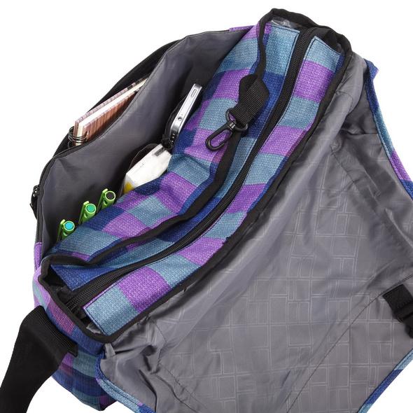 "Rada Laptoptasche CT/2/L 16"" purple blue caro"