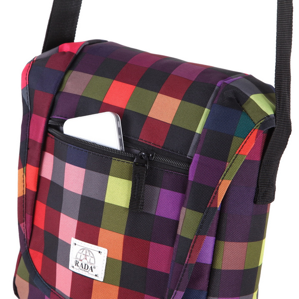 "Rada Tablettasche CT/2/S 10"" multicolor check"