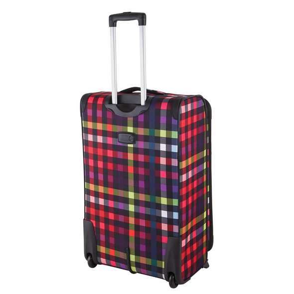 Rada Reisetrolley Rainbow T1/75 cm multicolor check