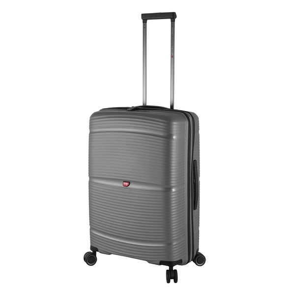 Von Cronshagen Reisetrolley Magnus M 66cm grey metallic
