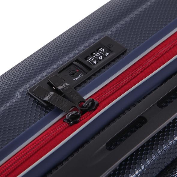 Rada Reisetrolley ABS/13 55cm blau/rot