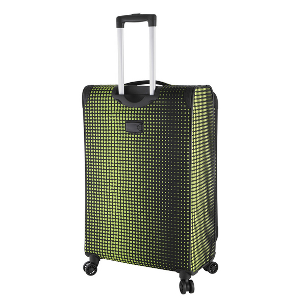 Rada Reisetrolley Rainbow T1/S 77cm lime green dots