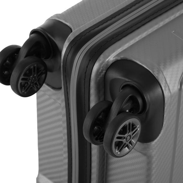 Von Cronshagen Reisetrolley Matteo 55cm Lap grey metallic