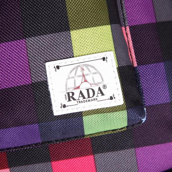 "Rada Laptop Tasche Rainbow RT/7 15,4"" multicolor check"