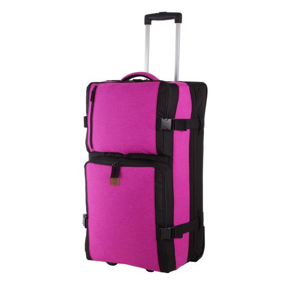Rada Reisetasche mit Rollen RT/31/L 88l pink 2tone cognac