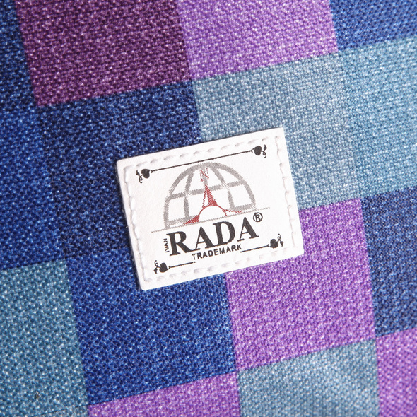 Rada Turnbeutel PB/1 purple blue/caro