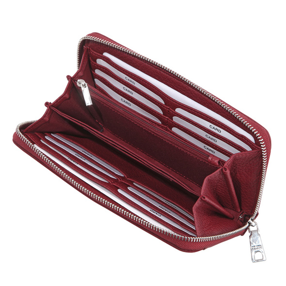 Prato Langbörse Damen Joyce S908 red