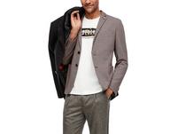 Slim: Gemusterter Jogg Suit-Sakko - Sakko