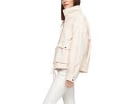 O-Shape-Jacke mit Wascheffekt - Baumwolljacke