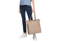 Shopper aus Glattleder - Glattleder-Tasche