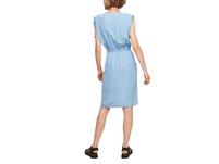 Light Denim-Kleid mit Nadelstreifen - Kleid