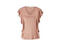 Gerüschtes Shirt aus Edeljersey - T-Shirt