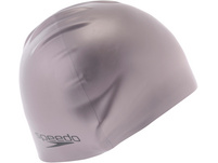 SPEEDO Plain Moulded Silicone Cap Badekappe