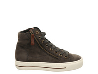 Paul Green 0067-4024-018/hightop-pauls Schnürer grau Damen