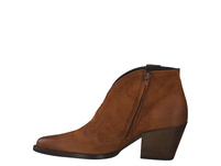 Paul Green 9663 Stiefel Kurz cognac Damen