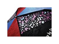 Step by Step Regenschirm Magic Rain-Effekt pink/blue