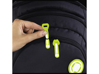 coocazoo Ergänzungsset MatchPatch Special reflective lime