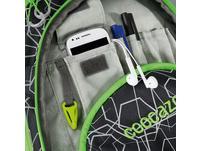 coocazoo Schulrucksack ScaleRale laserreflect solar-green