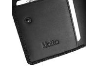 Klatta Hochkantbörse Damen Wallet Small Zip black paper