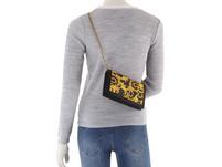 Versace Jeans Couture Clutch Linea M DIS 11 black baroque print