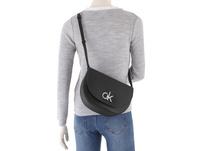 Calvin Klein Umhängetasche Re-Lock Saddle Bag green