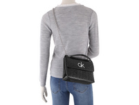 Calvin Klein Umhängetasche Re-Lock EM Conv Crossbody MD purple