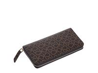 Calvin Klein Langbörse Damen Monogram Z/A Wallet LG black ck mono