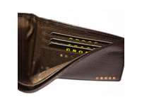Cross Geschenkset Männer Geldbörse RTC slim RFID dunkelbraun + Kugelschreiber