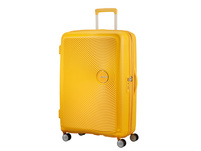 American Tourister Reisetrolley Soundbox 77cm coral red
