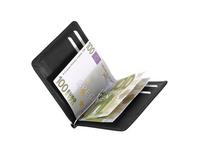 Braun Büffel Geldbörse Herren Dollarclip schwarz