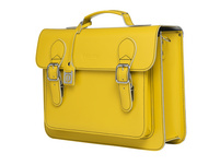 CEEVEE Leather Aktentasche Catchall Business lemon