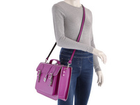 CEEVEE Leather Aktentasche Catchall Business soft pink