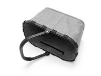 reisenthel Einkaufskorb carrybag einfarbig 22l twist silver