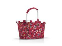 reisenthel Einkaufskorb carrybag gemustert 22l paisley ruby