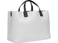 Tommy Hilfiger Kurzgriff Tasche Iconic Tommy Satchel Mono white