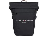 """Tommy Hilfiger Laptop Rucksack TH Established Rolltop Backpack 15,6"""" desert sky"""