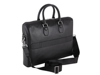 Tommy Hilfiger Aktentasche Fine Leather Slim Comp Bag black