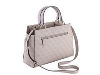 Guess Kurzgriff Tasche Valy Large Girlfriend Satchel stone
