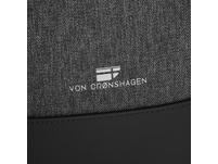 """Von Cronshagen Laptoprucksack Kjell 17"""" schwarz"""