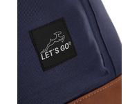 Let's Go Rucksack 34A002 22l blue dots