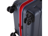 Rada Reisetrolley ABS/13 65cm blau/rot