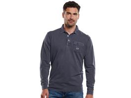 Polo-Shirt aus gewebtem Jersey