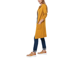 Long-Cardigan aus Wollmix - Strickjacke