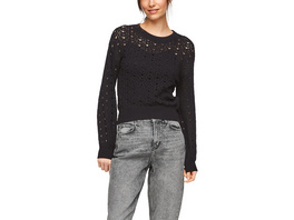 Strickpullover mit Ajourmuster - Pullover