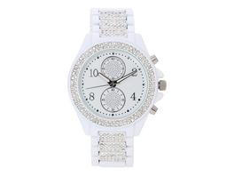 Uhr - White Crystals