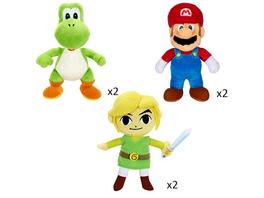 Nintendo - Plüschfigur (zufällige Auswahl)