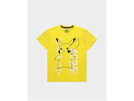 Pokémon - T-Shirt Donnerschock Pikachu Größe - XL