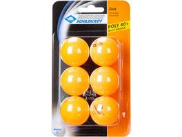Donic-Schildkröt Jade Poly 40+ 6er Tischtennisball